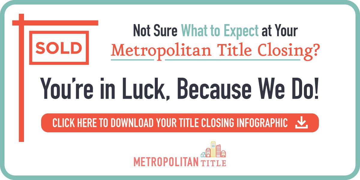 Metropolitan Title Closing CTA