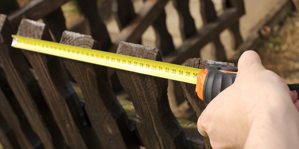 Measuring Fence