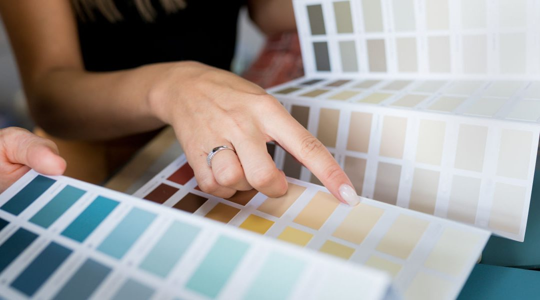 2022 color trends swatches